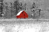 Red Barn 41 Papier Photo par Dbriyul