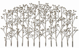 Iron Trees Metal Wall Art*