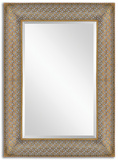 Ariston Stamped Metal Mirror