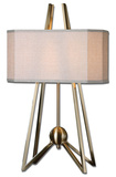 Andar Coffee Bronze Table Lamp