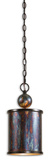 Albiano Light Bronze Mini Pendant Lamp