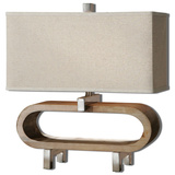 Medea Wood Accent Lamp