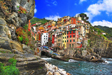 Colors of Italy - Riomaggiore  Pictorial Fishing Village Liguria