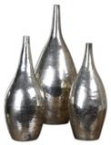 Rajata Silver Vases S/3