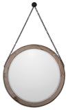 Loughlin Round Wood Mirror
