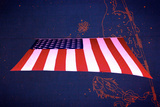 American Flag in Grand Central Station NYC