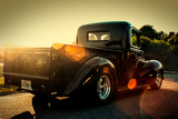Custom Pickup at Sunset