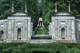 Garden at VIlla d'Este Hotel