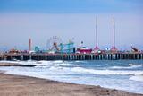 Amuesment Park at Steel Pier Atlantic City  Nj
