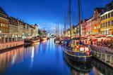 Copenhagen  Denmark on the Nyhavn Canal
