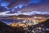 Philipsburg  Sint Maarten  Dutch Antilles Cityscape at the Great Salt Pond