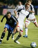Aug 16  2008  New England Revolution vs San Jose Earthquakes - Jeff Larentowicz