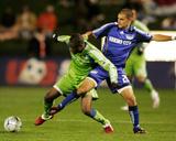 Oct 17  2009  Seattle Sounders FC vs Kansas City Wizards - Steve Zakuani