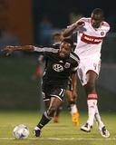 Jul 8  2008  Chicago Fire vs DC United - Bakary Soumare