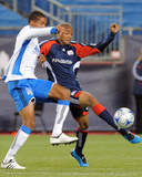 Aug 29  2009  San Jose Earthquakes vs New England Revolution - Darrius Barnes