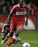 Nov 6  2008  New England Revolution vs Chicago Fire - Bakary Soumare