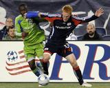 Sep 26  2009  Seattle Sounders FC vs New England Revolution - Steve Zakuani