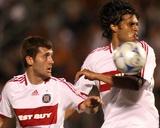 Jul 8  2008  Chicago Fire vs DC United - Gonzalo Segares