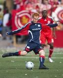 May 23  2009  New England Revolution vs Toronto FC - Jeff Larentowicz