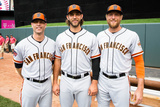 85th MLB All-Star Game Team Photos: Jul 15  2014 - Madison Bumgarner
