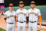 85th MLB All-Star Game Team Photos: Jul 15  2014 - Madison Bumgarner