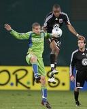 Sep 12  2009  Seattle Sounders FC vs DC United - Osvaldo Alonso