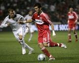 Sep 25  2008  Los Angeles Galaxy vs Chicago Fire - Gonzalo Segares