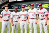 85th MLB All-Star Game Team Photos: Jul 15  2014 - Johnny Cueto