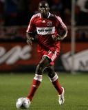 Oct 23  2008  New York Red Bulls vs Chicago Fire - Bakary Soumare