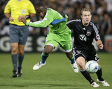 Sep 13  2009  Seattle Sounders FC vs DC United - Steve Zakuani