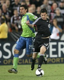 Sep 2  2009  US Open Cup - Seattle Sounders FC vs DC United - Leonardo Gonzalez