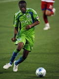 May 16  2009  Seattle Sounders FC vs FC Dallas - Steve Zakuani