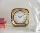 Marina Gold Table Clock