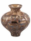 Mina Metallic Vase