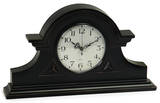 Chandler Black Mantle Table Clock
