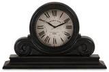 Crane Black Antique Mantel Clock