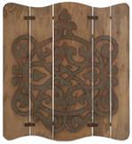 Eden Carved Wood Panel