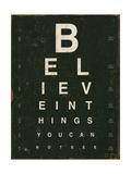 Eye Chart III