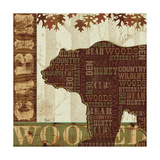 Woodland Words II Reproduction d'art par Jess Aiken