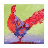 Rooster VI Reproduction d'art par Leslie Saeta