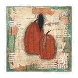 Pumpkins and Crow