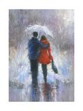 Rain Romance Reproduction d'art par Vickie Wade