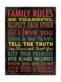 Family Rules - Color
