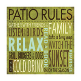 Patio Rules