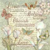 Live  Believe  Cherish and Love