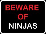 Beware of Ninjas