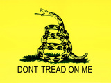 Gadsden Flag (Don't Tread on Me) Tea Party Historical Poster