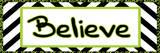 Tween Believe Green