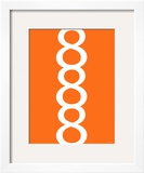 Orange Figure 8 Design