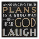 Hear God Laugh